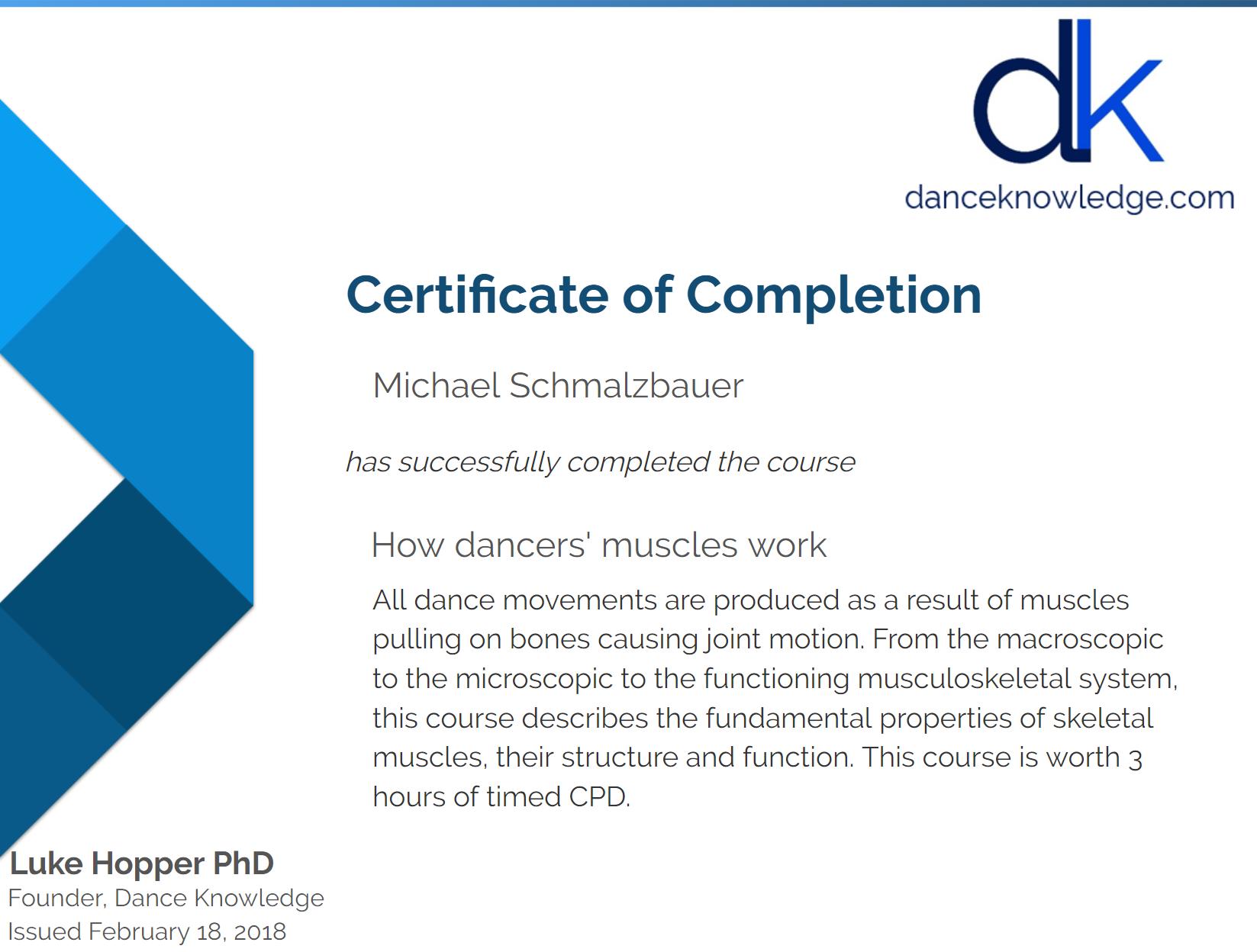 Dance Knowledge